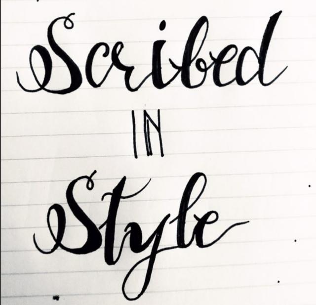 ScribedinStle